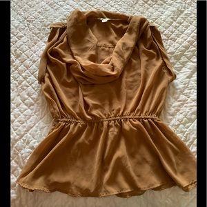 EUC chiffon sleeveless blouse